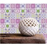 Tecido Adesivo Decorativo Azulejos
