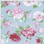 Tecido Estampado para Patchwork - 20235 Rosas Grande Cor 04 (0,50x1,40)