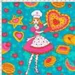 Tecido Estampado para Patchwork - 18355 Biscoitos 01 (0,50x1,40)