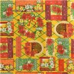 Tecido Estampado para Patchwork - 18299 Natal Bico de Papagaio Cor 01 (0,50x1,40)