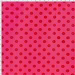 Tecido Estampado para Patchwork - 60101 Bola Média Tom S/ Tom Chiclete Cor 41 (0,50x1,40)