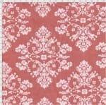 Tecido Estampado para Patchwork - 60367 Diagonal Arabesco Fd Rose/Rosa Cor 06 (0,50x1,40)