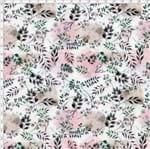 Tecido Estampado para Patchwork - Acqua Flora Cor 01 (0,50x1,40)