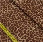 Tecido Estampado para Patchwork - Animal Print: Pele de Onça Marrom (0,50x1,50)