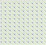 Tecido Estampado para Patchwork - Anita Catita Baby Estrelinhas Tricolores com Azul (0,50x1,40)