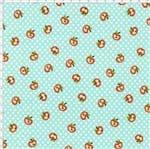 Tecido Estampado para Patchwork - Apples: Mini Maçãs (0,50x1,40)