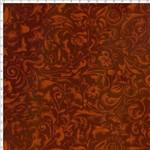 Tecido Estampado para Patchwork - Arabescos Terracota (0,50x1,40)