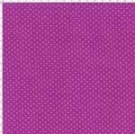 Tecido Estampado para Patchwork - Arte em Cores Poá Rose Fundo Roxo (0,50x1,40)