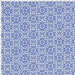 Tecido Estampado para Patchwork - Azulejo Português Lisboa 325252 Cor 1626 (0,50X1,40)