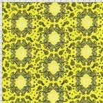 Tecido Estampado para Patchwork - Bandana Amarelo Cor 01 (0,50X1,40)