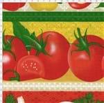 Tecido Estampado para Patchwork - Barrado Legumes Cor 1994 (0,50x1,40)