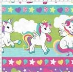 Tecido Estampado para Patchwork - Barrado Unicórnio Candy Cor 2089 (0,50x1,40)