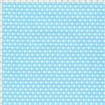 Tecido Estampado para Patchwork - BC016 Olhos Azul Cor 02 (0,50x1,40)
