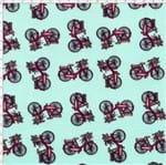 Tecido Estampado para Patchwork - Bicicletas Cor 1682 (0,50X1,40)