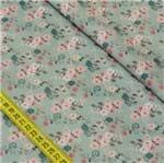 Tecido Estampado para Patchwork - Bonecas Retrô: Floral Bonecas Retrô (0,50x1,40)