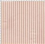 Tecido Estampado para Patchwork - Botânica Folhas Laranja (0,50x1,40)