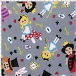 Tecido Estampado para Patchwork - Casa Belém Alice no País das Maravilhas Alice (0,50x1,40)