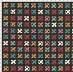 Tecido Estampado para Patchwork - Casa Belém Je T'aime Flor de Lis Cor 01 (0,50x1,40)