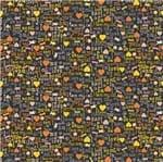 Tecido Estampado para Patchwork - Casa Belém Pet Cats I Love My Cat Cor 01 (0,50x1,40)