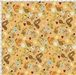 Tecido Estampado para Patchwork - Cats Cor 1880 (0,50x1,40)