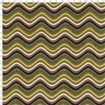 Tecido Estampado para Patchwork - Col. Waves Verde Cor 02 LU024 (0,50x1,40)