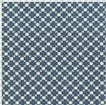 Tecido Estampado para Patchwork - Coleção Blue Work Trevo (0,50x1,40)