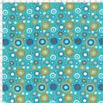 Tecido Estampado para Patchwork - Coleção Bolas Fundo Verde Cor 02 LU019 (0,50x1,40)