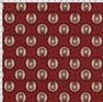 Tecido Estampado para Patchwork - Coleção Bonecas no Camafeu (0,50x1,40)