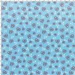 Tecido Estampado para Patchwork - Coleção Doutores Médica Coração Cor 01 (0,50x1,40)