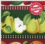 Tecido Estampado para Patchwork - Coleção Empório das Frutas e Legumes: Frutaria em Faixas (0,50x1,40)