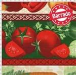 Tecido Estampado para Patchwork - Coleção Empório das Frutas e Legumes: Quitanda em Faixas (0,50x1,40)