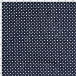 Tecido Estampado para Patchwork - Coleção Lhamas Micro Poá Noturno (0,50x1,40)