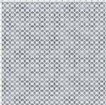 Tecido Estampado para Patchwork - Coleção Mini Elementos Coroa Cinza (0,50x1,40)