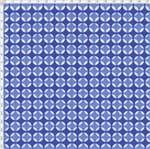 Tecido Estampado para Patchwork - Coleção Portas Geométrico Azul (0,50x1,40)