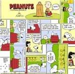 Tecido Estampado para Patchwork - Coleção Snoopy Quadrinhos (0,50x1,40)
