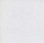 Tecido Estampado para Patchwork - Composê Poá Branco com Preto Cor 1587 (0,50X1,40)