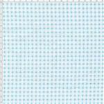 Tecido Estampado para Patchwork - Compose Xadrez Cor Branco e Azul (0,50x1,40)