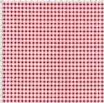 Tecido Estampado para Patchwork - Composê Xadrez Vermelho Cor 1559 (0,50X1,40)