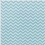 Tecido Estampado para Patchwork - Coroas Azul Cor 1543 (0,50x1,40)