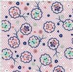 Tecido Estampado para Patchwork - Corujinhas Baby Cor 1804 (0,50x1,40)