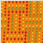 Tecido Estampado para Patchwork - DB035 Packed Fruit Cor 01 (0,50x1,40)