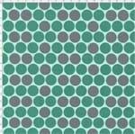 Tecido Estampado para Patchwork - Diamantes Tiffany Cor 1817 (0,50x1,40)