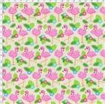 Tecido Estampado para Patchwork - Digital Flamingos (0,50x1,40)