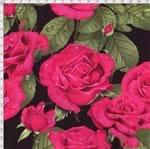 Tecido Estampado para Patchwork - Digital Rosas (0,50x1,40)