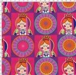 Tecido Estampado para Patchwork - Distroller Virgencita Patch (0,50x1,40)