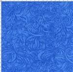 Tecido Estampado para Patchwork - Fantasia Airton Spengler: Relevo Azul Royal (0,50x1,40)