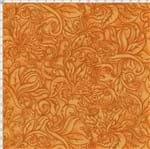 Tecido Estampado para Patchwork - Fantasia Airton Spengler: Relevo Laranja (0,50x1,40)
