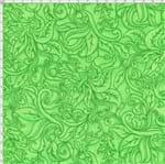 Tecido Estampado para Patchwork - Fantasia Airton Spengler: Relevo Verde (0,50x1,40)