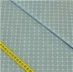 Tecido Estampado para Patchwork - Fashion Floral: Trama Fashion Azul (0,50x1,40)