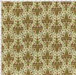 Tecido Estampado para Patchwork - Flor de Liz 327999 Cor 90 (0,50X1,40)